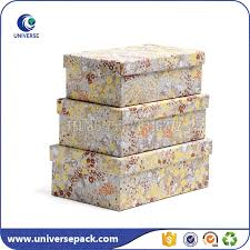 Decorative Cardboard Storage Boxes With Lids Decorative cardboard storage boxes custom printing large competent 16