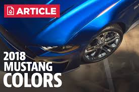2005 Mustang Color Chart 2018 Mustang Colors 2018 Mustang Paint Codes Lmr