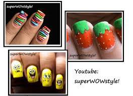 Easy Nail Art Designs At Home Videos - Aloin.info - aloin.info