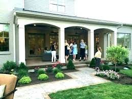 outdoor porch designs adding back to house a covered patio image of ideas screened backyard plans for houses pictures