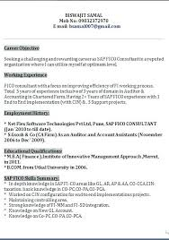Format For Resume For Freshers Resume Maker Resume For Sap Freshers ...