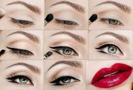 vine tutorial step three 1950 39 s style make up tutorial barely there neutral eye