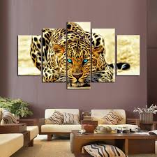 adorable cheetah picture wall decor ideas