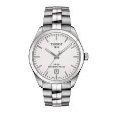 men s tissot pr100 powermatic 80 silver dial bracelet watch tissot men s pr100 powermatic 80 silver dial bracelet watch