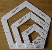 19 best Kaye Wood's Quilting Toys images on Pinterest | Knitting ... & View & Do Pentagon Shape 4 removable templates nest together to make this a  must have Adamdwight.com