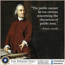 Samuel Adams Quotes Best Quote Samuel Adams On Character The Patriot Post