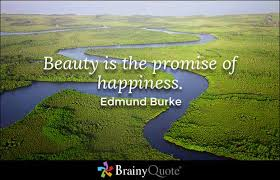 Beauty Is The Promise Of Happiness Quote Best of Edmund Burke Quotes Nature Quotes Happiness And Inspirational