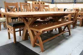 rustic dining table 8 chairs tyres2c