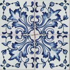 painted tile designs. 2502 Portuguese Handmade Majolica Tile Painted Designs T