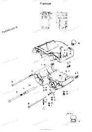 Motorcycle engine parts diagram suzuki motorcycle 1969 oem parts diagram for crankcase partzilla of motorcycle engine