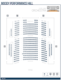 Meyerson Hall Seating Chart Moody Performance Hall At T Performing Arts Center
