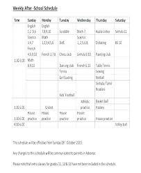 Tutoring Schedule Template Tutoring Flyer Templates Free