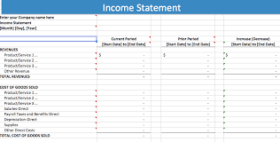 excel income statement 21 free income statement templates in word excel pdf