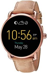 Fossil Q Wander Touchscreen Light Brown Leather Smartwatch Review