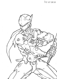 Overwatch Coloring Pages Print And Color