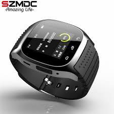 SZMDC Sport <b>Bluetooth Smart Watch</b> Luxury Wristwatch M26 with ...