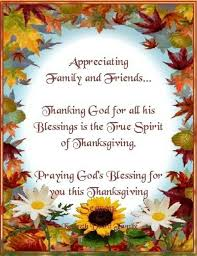 Happy Thanksgiving Quotes For Friends And Family Classy 48 Thanksgiving Prayer For Family Friends From The Bible Happy