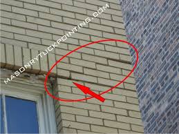 corroding lintel brick wall s steel lintel replacement chicago