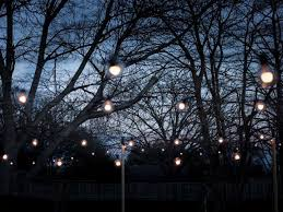 How To Hang Outdoor String Lights Best How To Hang Outdoor String Lights From DIY Posts HGTV