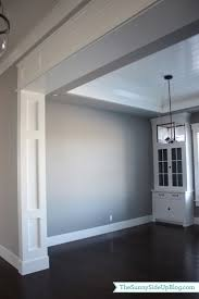 Canopy Bed Crown Molding Best 25 Wall Trim Ideas On Pinterest Paneling Walls Living
