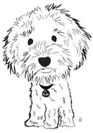Small Picture labradoodle line drawing Google Search 1 LINE DRAWINGS for