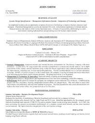 Business Analyst Resume Sample Simple Business Analyst Resume Template Word Senior Financial Analyst