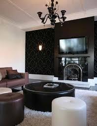 Modern Design Living Room Simple Design Ideas Corner Fireplaces Gallery White Surround