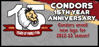 condors unveil 15th anniversary logo for 2012 13