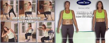 Chair Gym Exercise Chart Chair Gym Home Fitness System