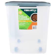 Vibrant Life Pet Food Storage Container, X-Large, 50 lb - Walmart.com