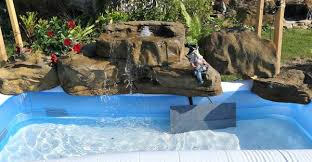 in ground pools with waterfalls. Outstanding Swimming Pool Waterfall Ideas For Above Ground Pools In With Waterfalls Backyard, Garden, Pool, Patio \u0026 Pond Fake Rock