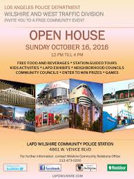 Open House Powerpoint Lapd Wilshire Open House Sunday October 16th The Greater