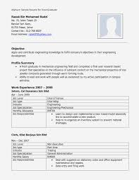 Modern Resume Template Open Office 20 Luxe Modele Cv Format Open Office Photos Lucybug Org