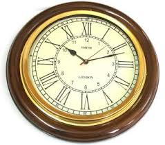 office clock wall. Artshai 16 Inch Big Wall Clock For Living Room And Office. Antique Look,Brass Office