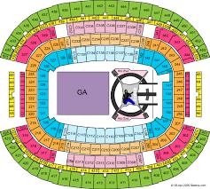 Dallas Cowboys Stadium Seating Chart