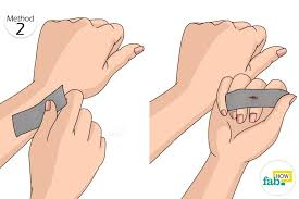 simply place a generous piece of duct tape over the skin tag for 10 to 12 days continuously if the duct tape becomes loose or falls off on its own