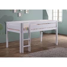 kenwood loft bedroom set. canwood furniture whistler junior twin bed with ladder \u0026 reviews | wayfair kenwood loft bedroom set r