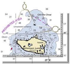 Coastal Navigation Mercator Chart 2 Nautical Charts