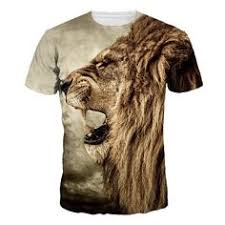 YOUYUB Fierce White Tiger <b>Kids</b> Summer <b>Cotton Slim</b>-<b>fit</b> T-Shirts ...