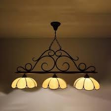 3 heads dome island light vintage