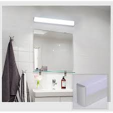 Modern Bathroom Lighting Us 9 99 40 Off Xsky Modern Bathroom Lights Vanity Led Light 12w 25cm 16w 40cm 22w 55cm 85 265v Front Mirror Toilet Wall Lamp Fixture Waterproof In