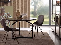 round wooden table tolomeo round table by esedra