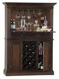 Cherry Bar Cabinet 690006 Wine And Bar Cabinet Cherry Wooden Wine Rack Storage 11 Bottles