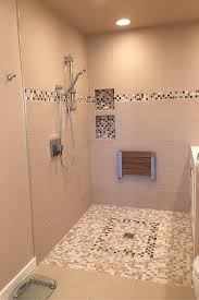 doorless walk in tile shower innovate building solutions
