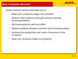customer service nst       why customer service