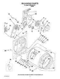 parts for maytag medc200xw1 dryer appliancepartspros com maytag performa dryer 4 wire installation at Wiring Diagram For Maytag Centennial Dryer