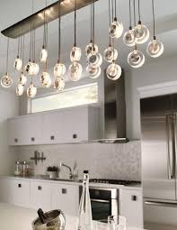 contemporary kitchen lighting. kitchen lighting idea the elongated shape of lbl lightingu0027s bling chandelier makes it contemporary