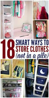 18 ways to clothes not in a pile