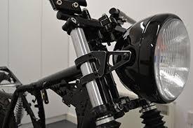 <b>Motorbike Motorcycle</b> Headlight Brackets PAIR for 50 - 51mm Forks ...