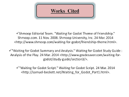 waiting for godot critical essays the circular structure of waiting for godot cliffs notes